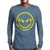 Evil Smiley Mens Long Sleeve T-Shirt