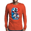 Evil Uncle Sam Mens Long Sleeve T-Shirt