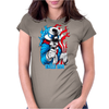 Evil Uncle Sam Womens Fitted T-Shirt