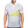 EVOLUTION LEGO BASKETBALL SPORTS funny Mens Polo