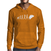 'Evolution Motorcycle' Funny Mens Hoodie