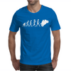 'Evolution Motorcycle' Funny Mens T-Shirt