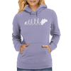 'Evolution Motorcycle' Funny Womens Hoodie