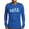 Evolution Of A Cyclist Mens Long Sleeve T-Shirt