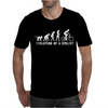 Evolution Of A Cyclist Mens T-Shirt
