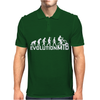 Evolution Of A Mountain Biker Mens Polo