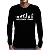 Evolution Of A Zombie Mens Long Sleeve T-Shirt
