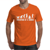 Evolution Of A Zombie Mens T-Shirt