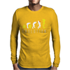 Evolution of Alien, Funny Mens Long Sleeve T-Shirt