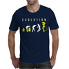 Evolution of Alien Mens T-Shirt