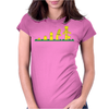 Evolution of Lego Womens Fitted T-Shirt