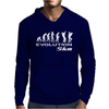 Evolution of Ska Funny Mens Hoodie
