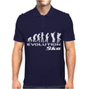 Evolution of Ska Funny Mens Polo