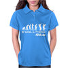 Evolution of Ska Funny Womens Polo