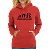 Evolution of Ska Womens Hoodie