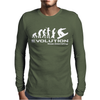Evolution of Snowboarding funny Mens Long Sleeve T-Shirt