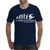 Evolution of Snowboarding funny Mens T-Shirt