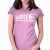 Evolution of Snowboarding funny Womens Fitted T-Shirt