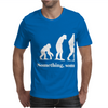 Evolution T-Shirt Something Somewhere Went Terribly Wrong funny Mens T-Shirt