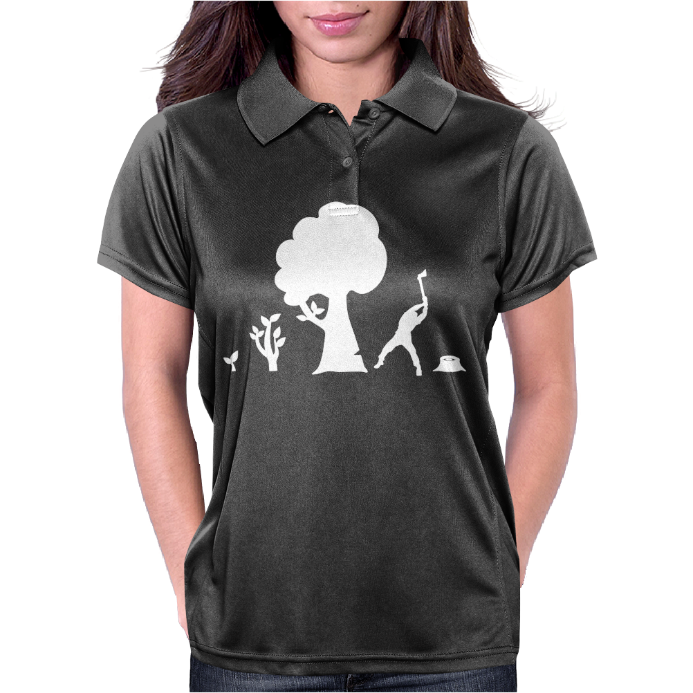 Evolution Tree Womens Polo