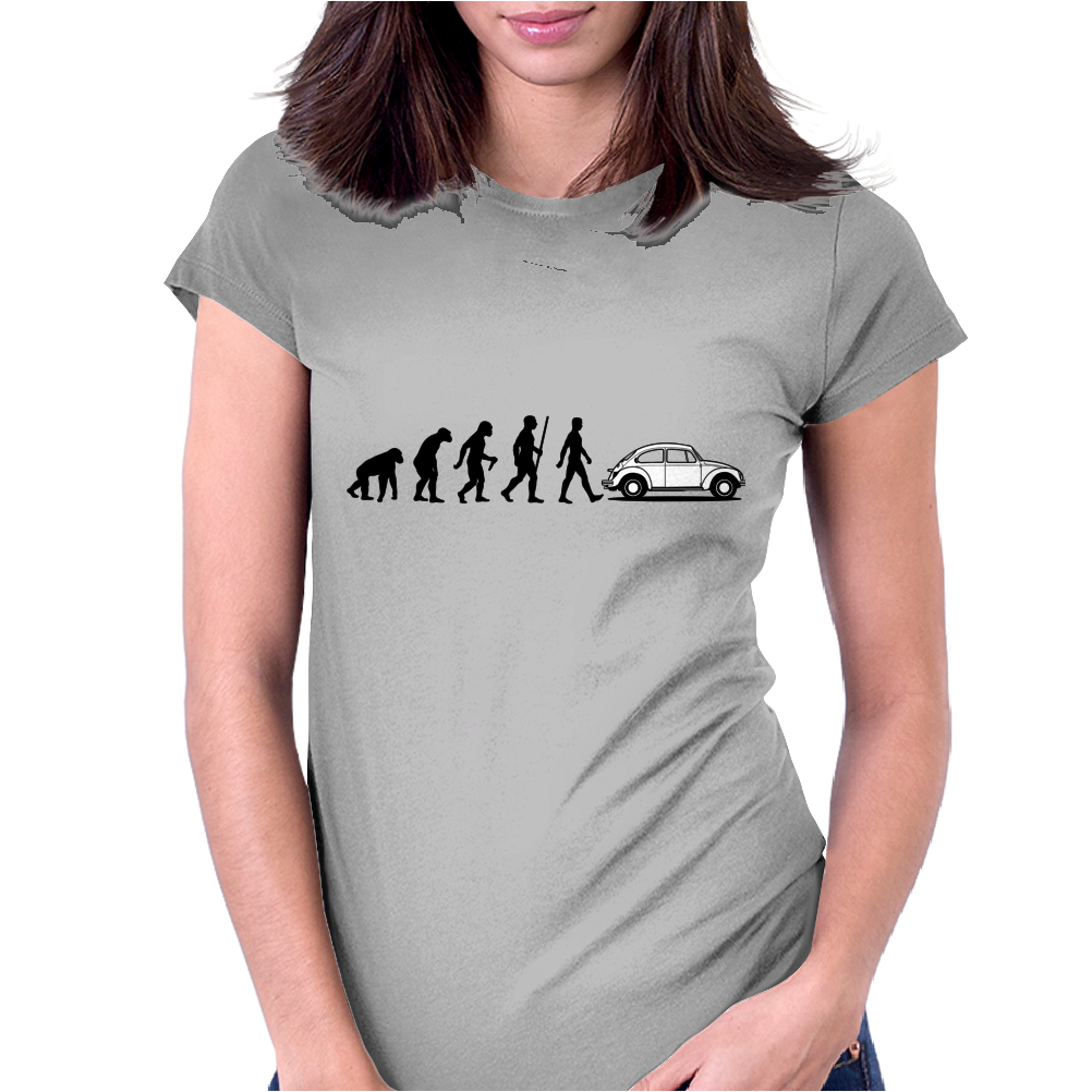 Evolution VW Beetle Womens Fitted T-Shirt