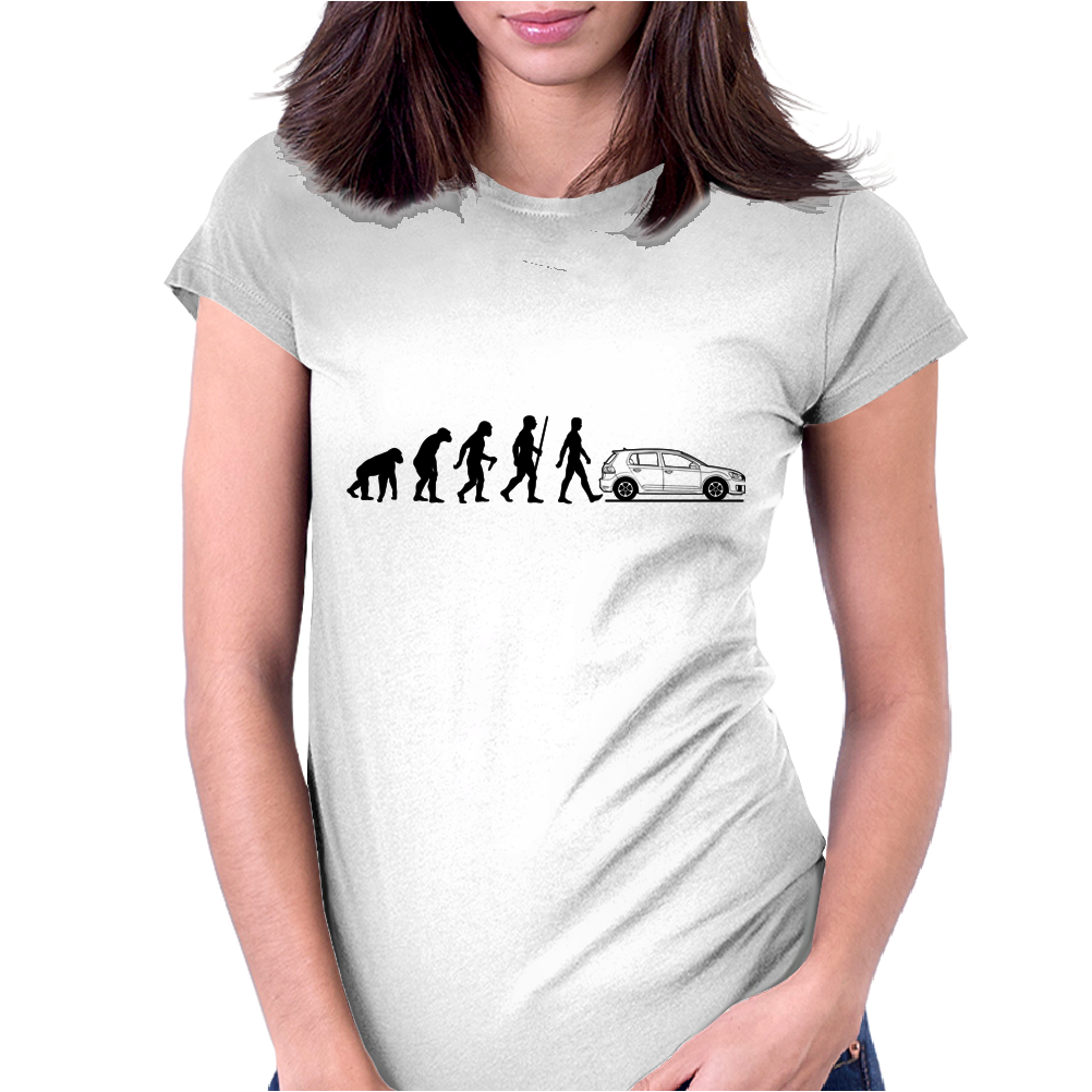 Evolution VW GOLF Womens Fitted T-Shirt