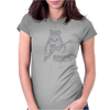 Ewok And Roll Womens Fitted T-Shirt