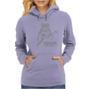 Ewok And Roll Womens Hoodie
