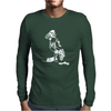 Ewok and Storm Trooper Bar Fight Mens Long Sleeve T-Shirt