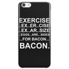 Exercise - Bacon Phone Case
