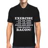Exercise Eggs are Sides for Bacon Mens Polo