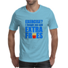 Exercise? I thought you said extra fries! Mens T-Shirt