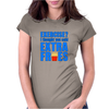 Exercise? I thought you said extra fries! Womens Fitted T-Shirt