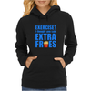 Exercise? I thought you said extra fries! Womens Hoodie