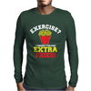 Exercise Mens Long Sleeve T-Shirt
