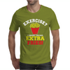 Exercise Mens T-Shirt