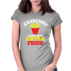 Exercise Womens Fitted T-Shirt