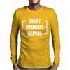 Exert Hydrate Repeat Mens Long Sleeve T-Shirt