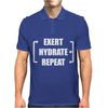 Exert Hydrate Repeat Mens Polo