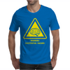 Existential Brain Hazard Warning Sign Mens T-Shirt
