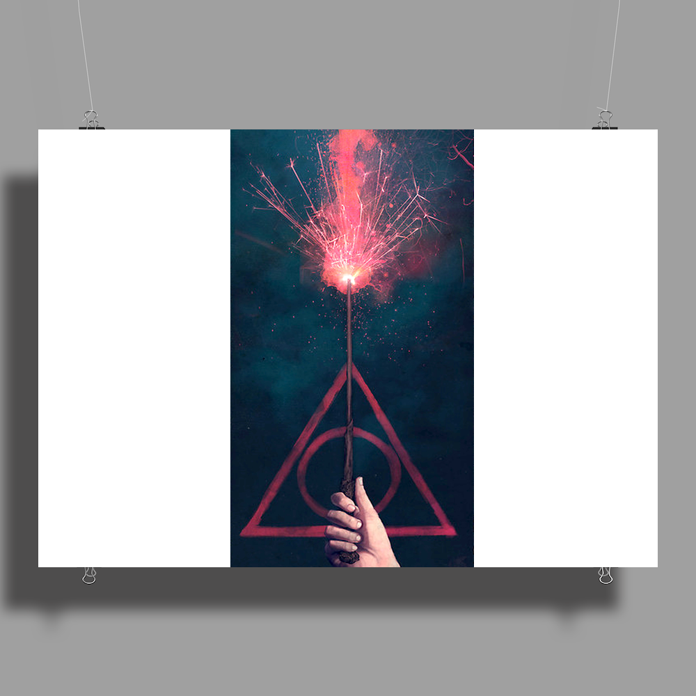 Expelliarmus Harry potter Poster Print (Landscape)
