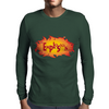 Explosion Mens Long Sleeve T-Shirt