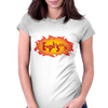 Explosion Womens Fitted T-Shirt