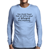 Extra bowl of stupid Mens Long Sleeve T-Shirt