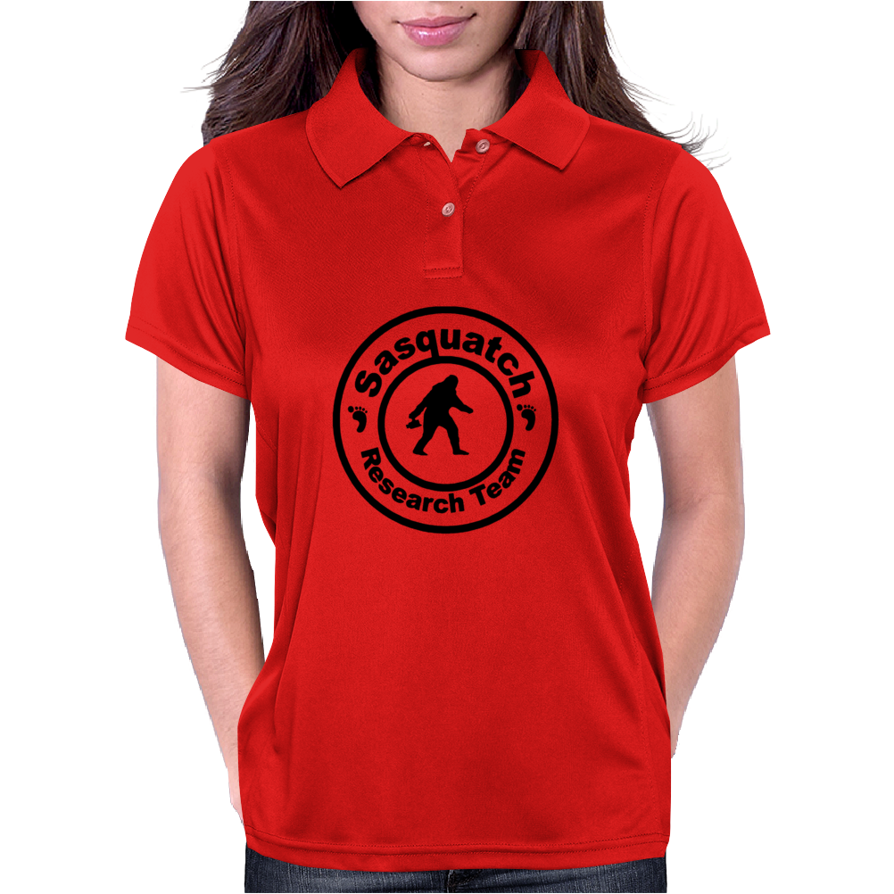 EXTRA LARGE SASQUATCH BIGFOOT RESEARCH TEAM Womens Polo