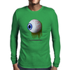 Eye Horror Mens Long Sleeve T-Shirt