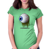 Eye Horror Womens Fitted T-Shirt