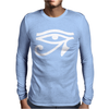 Eye Of Horus - All Seeing Eye Mason Mens Long Sleeve T-Shirt