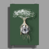 Eyeball tree Poster Print (Portrait)