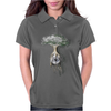 Eyeball tree Womens Polo
